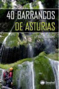 40 barrancos de asturias libro