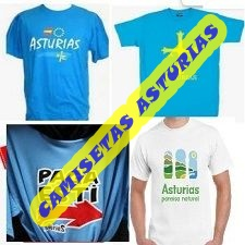CAMISETAS DE ASTURIAS DIVERTIDAS ASTURIANAS